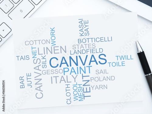 canvas Wallpaper Mural
