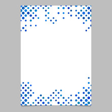 Colored Circle Pattern Brochur...