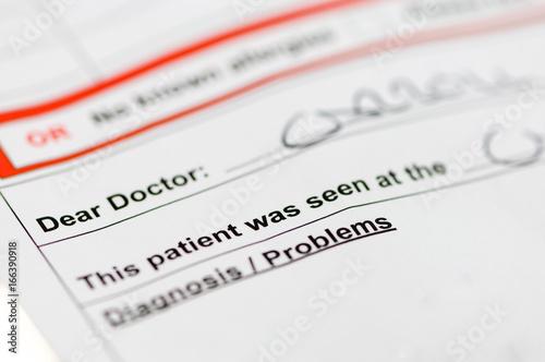 Dear Doctor Letter Kaufen Sie Dieses Foto Und Finden