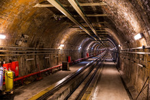 """Funicular Subway Called """"Tí_nel"""" - In Istanbul"""
