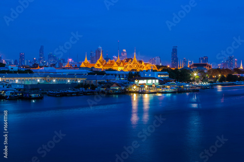 Grand palace and Wat phra keaw  in Bangkok, Asia Thailand Poster