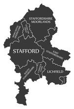 Staffordshire County England U...