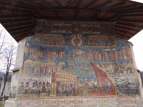 UNESCO-Kloster Voronet in Rumänien