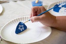Craft Hand Painting Painted Ro...