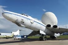 The Radar Plane At The International Exhibition.