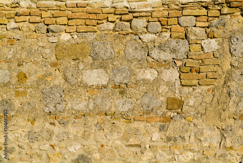 Fotografie, Obraz  distressed ancient wall background texture pattern rough dirty moody natural org