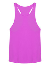 Pink Sleeveless T-shirt With E...