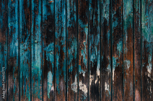 Old, grungy, colorful wood background