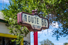 Seligman Arizona Route 66 Sign