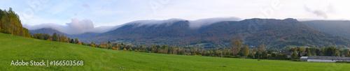 Keuken foto achterwand Wijngaard Jizera mountains, Czech Republic