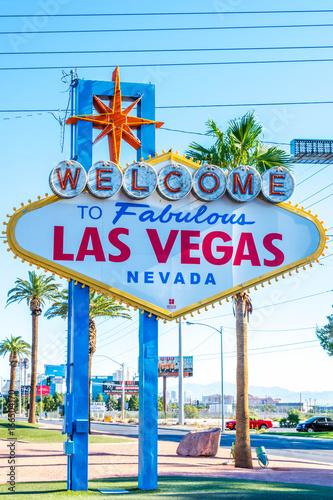 Tuinposter Las Vegas Las Vegas Sign Welcome to Fabulous