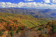 View From Waterrock Knob In Th...