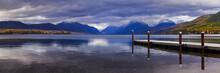 The Dock On Lake MacDonald In ...