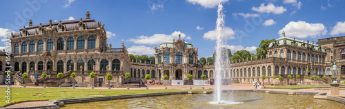 Cuadros en Lienzo Dresden, Saxrony, Germany-May 2017:Famous Zwinger palace in Dresden, Saxrony, Ge