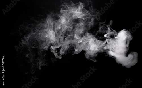 Poster de jardin Fumee Image of cloud smoke