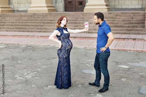 Funny Pregnant Formal Dress