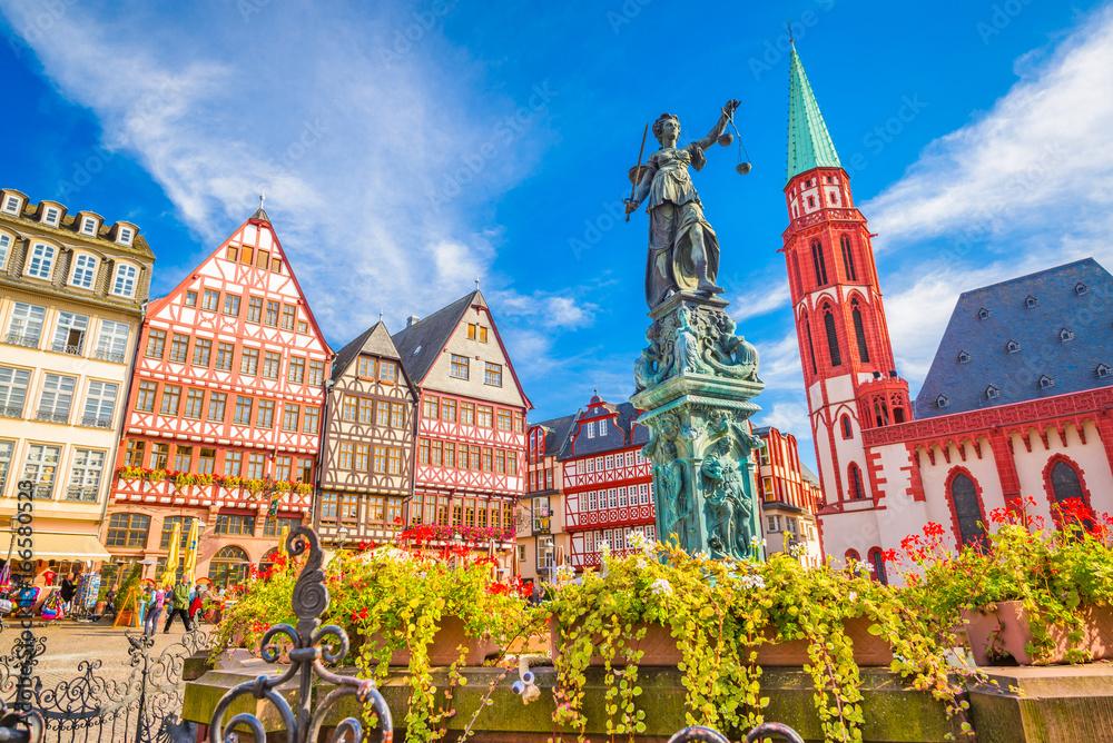 Fototapety, obrazy: Frankfurt Old Town