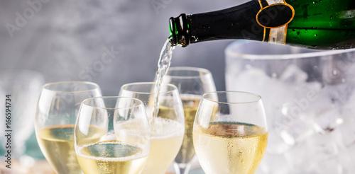 Fotomural Champagner