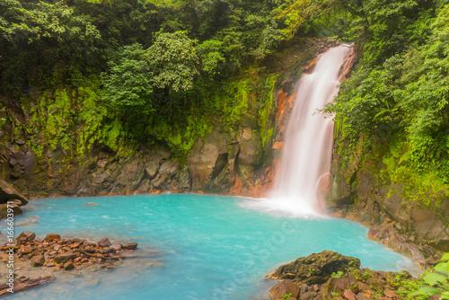 Wall Murals Waterfalls Wasserfall Rio Celest