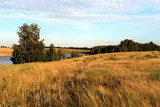 Summer pond. Altai region. Russia