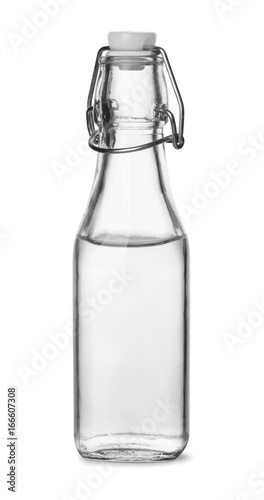 Bottle of distilled white vinegar