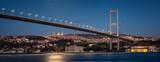 Illuminated First Bosphorus Bridge
