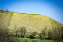 Cerne Abbas In Dorset