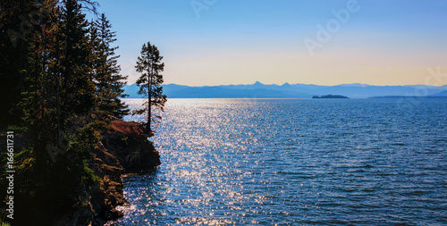 Valokuva  Mountain lake