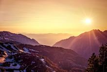 Utah Mountain Sunset