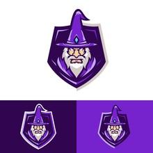 Wizard Vector Logo Illustration