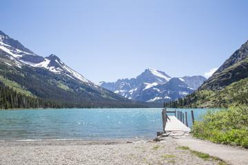 Glacier National Park Summer Landscape