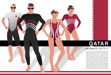 Male And Female Swimmers : Swi...