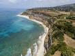 Promontorio, costa, scogliera, scogliera a picco sul mare, Ricadi, Capo Vaticano, Torre Marino, Calabria. Italia