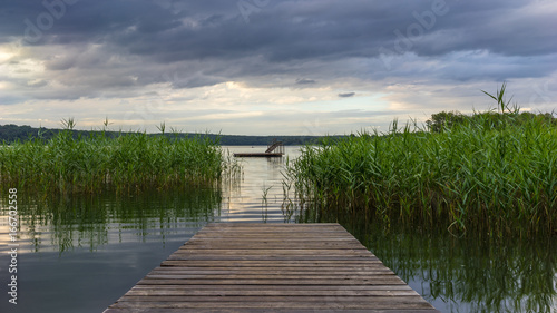 Beautiful jetty landscape