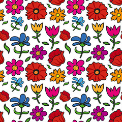 floral seamless patter