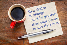Your Desire To Change - Inspir...
