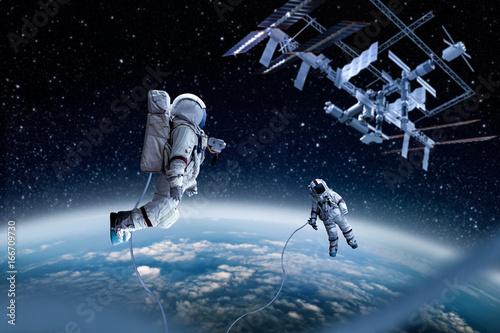 Keuken foto achterwand Nasa spaceman