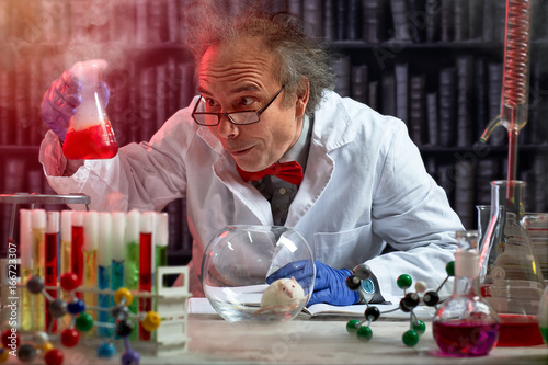 crazy scientist the making mix of chemicals