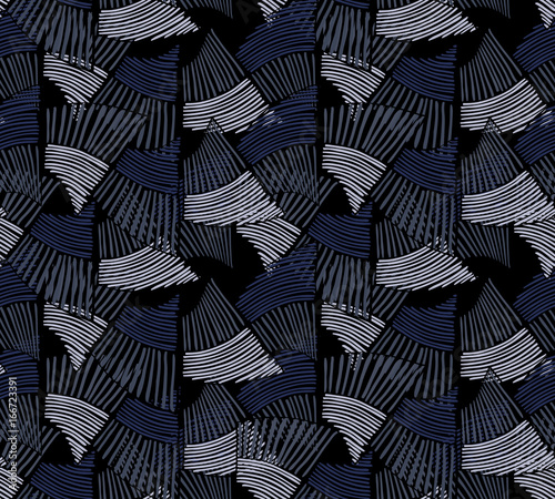 wavy-trapezoids-striped-blue