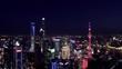 Aerial view of Lujiazui(The bund) in Shanghai