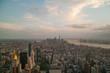 Manhattan New York Skyline view