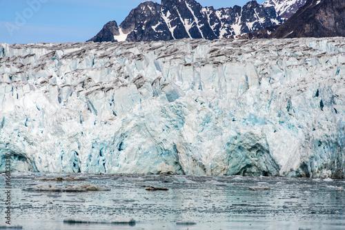 Foto op Plexiglas Arctica Glacier in Svalbard