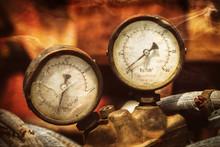 Pressure Meters With Analog Di...