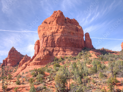 Foto op Canvas Arizona Hiking northern Arizona's red rocks