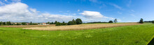 Panoramic View Of The Rye Fiel...
