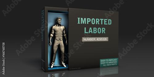 Fotografia, Obraz  Imported Labor