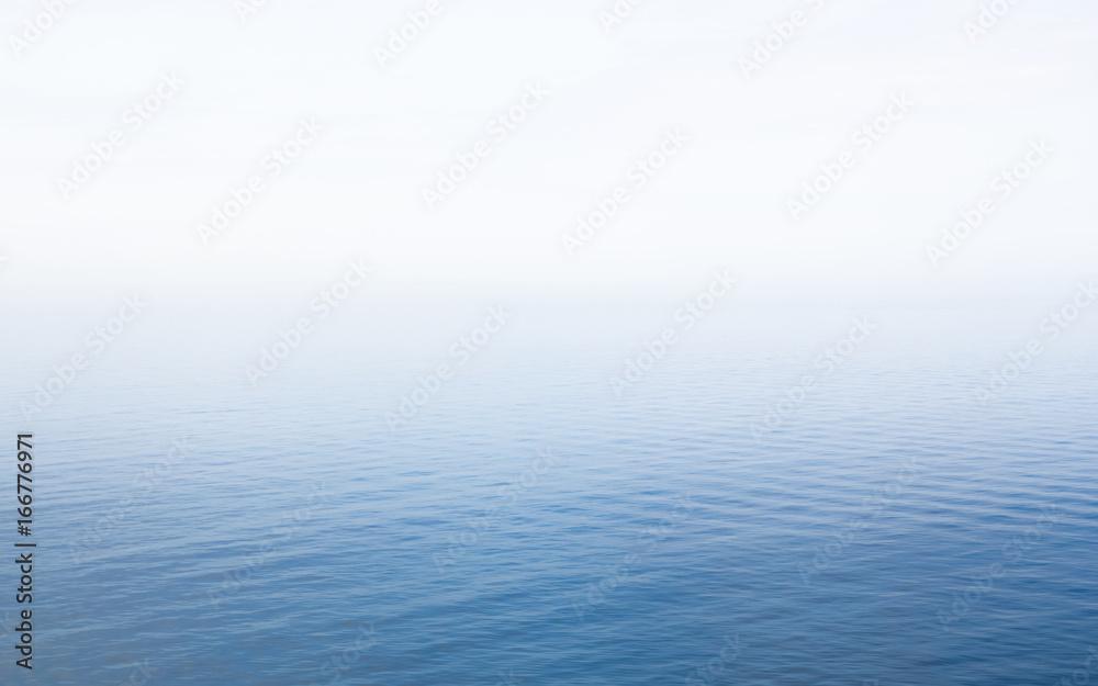 Fototapeta Fog on Baltic Sea