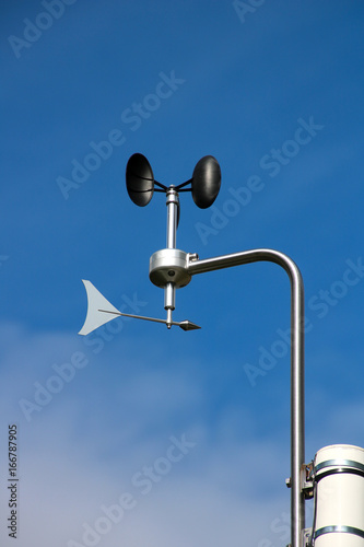Weather station with an anemometer Wallpaper Mural
