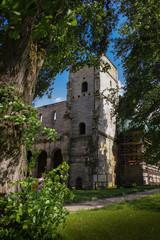 Fototapeta na wymiar Kloster in Thüringen