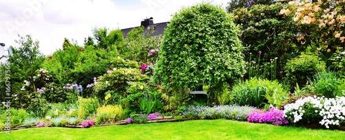 Cadres-photo bureau Jardin Gartenpanorama